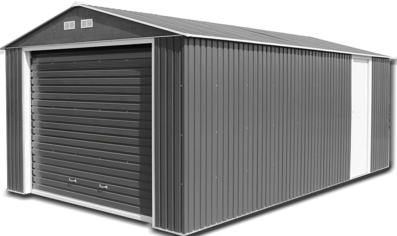 tyler up for shed openers watch steel john roll youtube sheds doors door garage